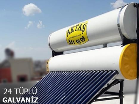 24 Tüplü Galvanizli Güneş Enerji Sistemi Adana