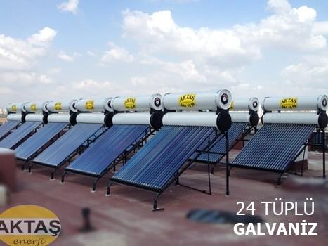 24 Vakum Tüplü Güneş Enerjisi Adana