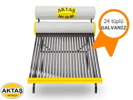 24 Vakum Tüplü Galvanizli Boyalı Güneş Enerjisi Fiyatı Adana