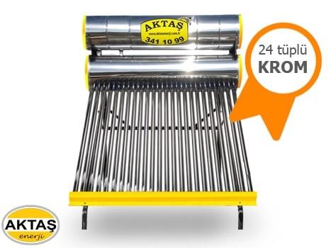 24 Vakum Tüplü Krom Güneş Enerjisi Fiyatı Adana