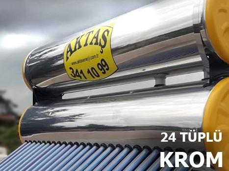 24 Vakum Tüplü Paslanmaz Krom Enerji Sistemi Adana