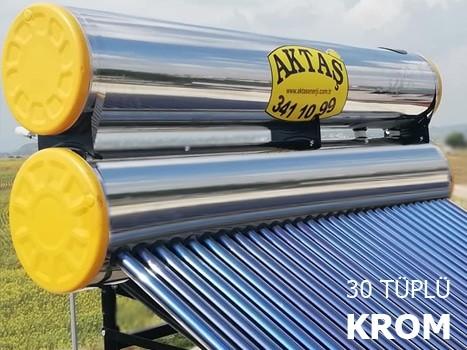 30 Tüplü Krom Güneş Enerji Adana