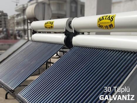 30 Vakum Tüplü Galvanizli Güneş Enerjisi Adana